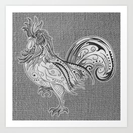 Supreme Chook Art Print