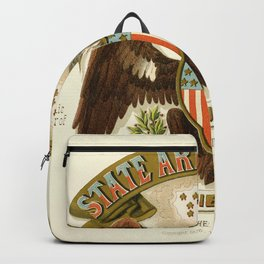 State arms of the union / 1876 Backpack