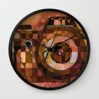 rebel Wall Clocks featuring Rebel by S.G. DeCarlo