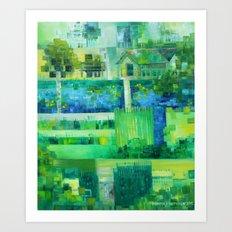 Monetcraft aka. the Advent of Pixelism Art Print