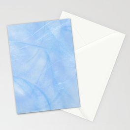 Frozen Marble Background Stationery Cards