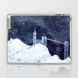 Castle in the clouds Laptop & iPad Skin