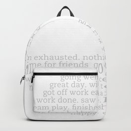 Haven't the Slightest Clue.... Backpack