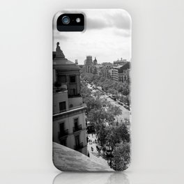 Watching and Waiting iPhone Case