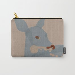 Grey Deer Carry-All Pouch