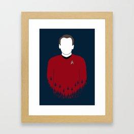 Scotty - Variant Framed Art Print