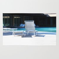 pool Area & Throw Rugs featuring Pool by Mario Sa