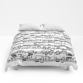 Sheet Music by Bach Comforters