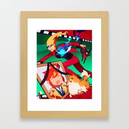 Phantom Detective Framed Art Print