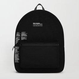 Manifesto Black Backpack