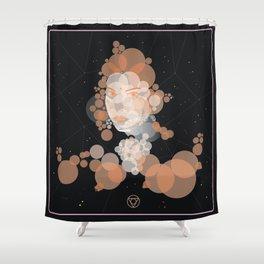 Retrato Shower Curtain