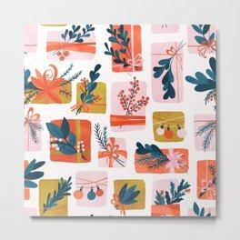 Gift Box Metal Print