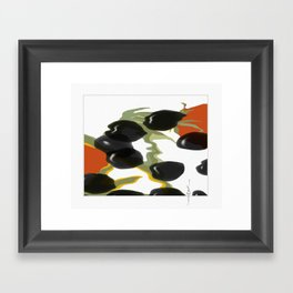 antipasto / olives Framed Art Print