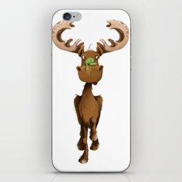 Moose Named Moe iPhone Skin