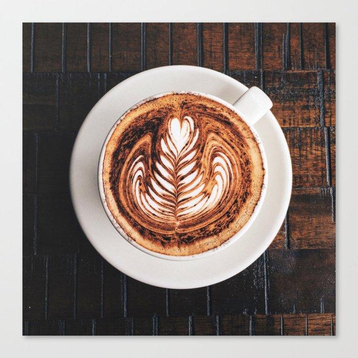 My Daily Coffee Canvas Print