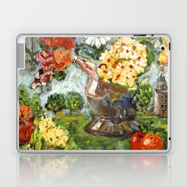 Flowers,  Fruit and a Cathedral Laptop & iPad Skin