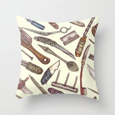 Shanks & Shivs Throw Pillow