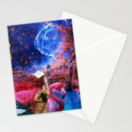 COLLAGE ART BOARD Stationery Cards