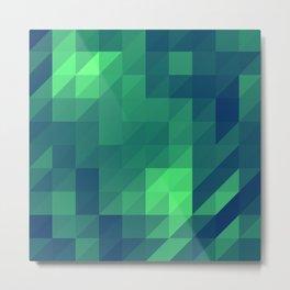 Polygon Nine Metal Print
