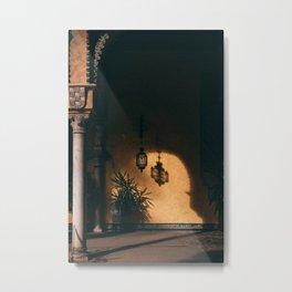 Moorish shadows Metal Print