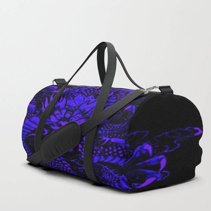 Epic Dragon Blue Duffle Bag