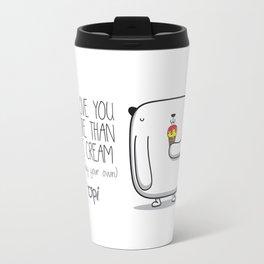 i love you more than ice cream Travel Mug