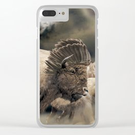 The Great Spirit Clear iPhone Case
