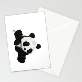 Lace Agate Panda Stationery Cards