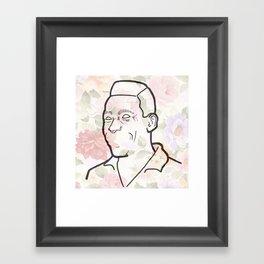 P-ele Framed Art Print