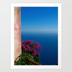 Ocean of Memories Art Print