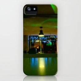 GREEN LIGHTS iPhone Case