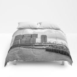 Rotterdarm cityscape Comforters