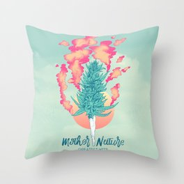 Gift of Mother Nature Throw Pillow