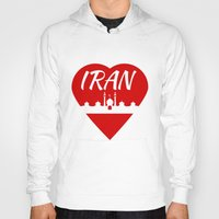 islam Hoodies featuring Iran by mailboxdisco