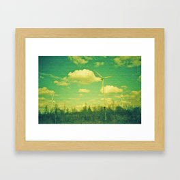 Wind Mills Framed Art Print