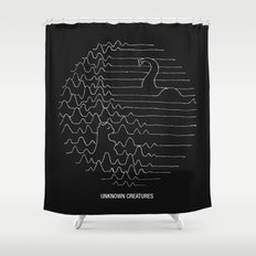 Unknown Creatures Shower Curtain