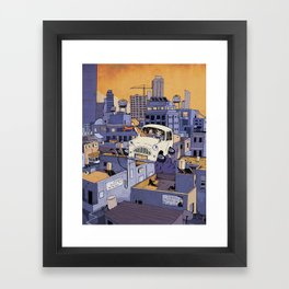 Once Upon a Future: Tel-Aviv, 2013 Framed Art Print