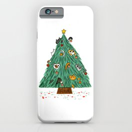A messy Holiday iPhone Case