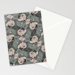 Posh*Usher tessellation Stationery Cards