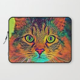 AnimalColor_Cat_ 011_by_JAMColors Laptop Sleeve