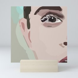Emma Seriously Mini Art Print