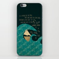 pilot iPhone & iPod Skins featuring PILOT ME by Rebecca Allen