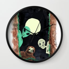 Grave Squad Wall Clock