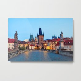 PRAGUE 01 Metal Print