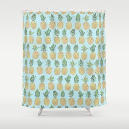 The Pineapple Show Shower Curtain