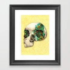 skull2 Framed Art Print