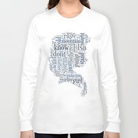 elsa Long Sleeve T-shirts featuring Elsa  by MollyW