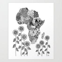 Forever Part of Me Art Print