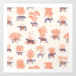 Where they Belong - Tigers Art Print