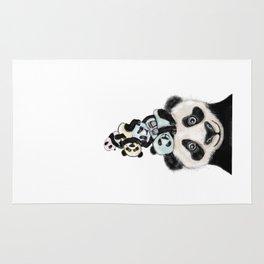 Panda Totæm Rug
